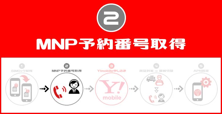 MNP予約番号取得